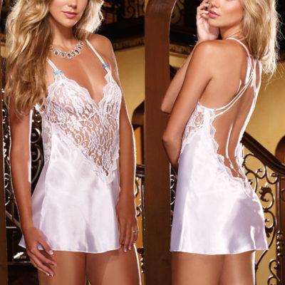 Women Sexy Lingerie Nightwear Backless